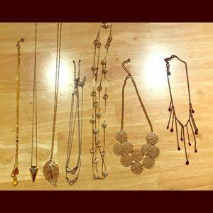 Set of 8 Necklaces